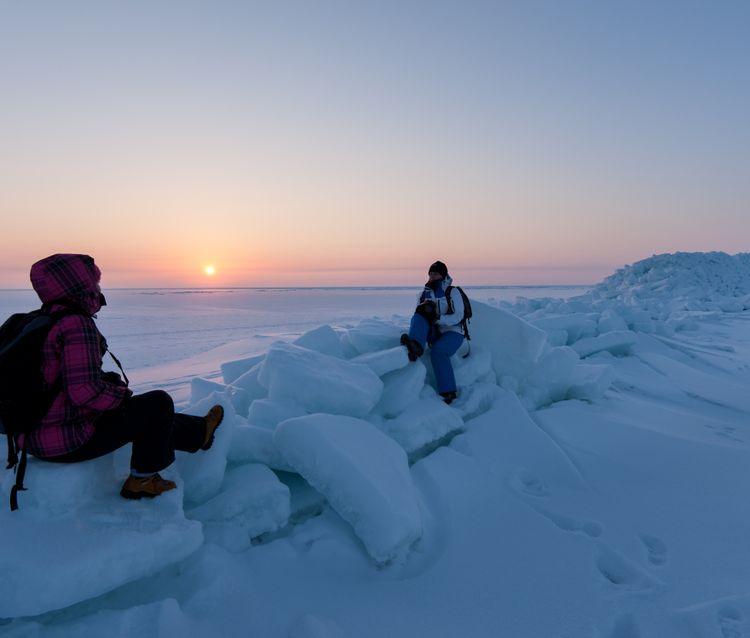 Ice-road. Jõulukingitused. Prangli saar