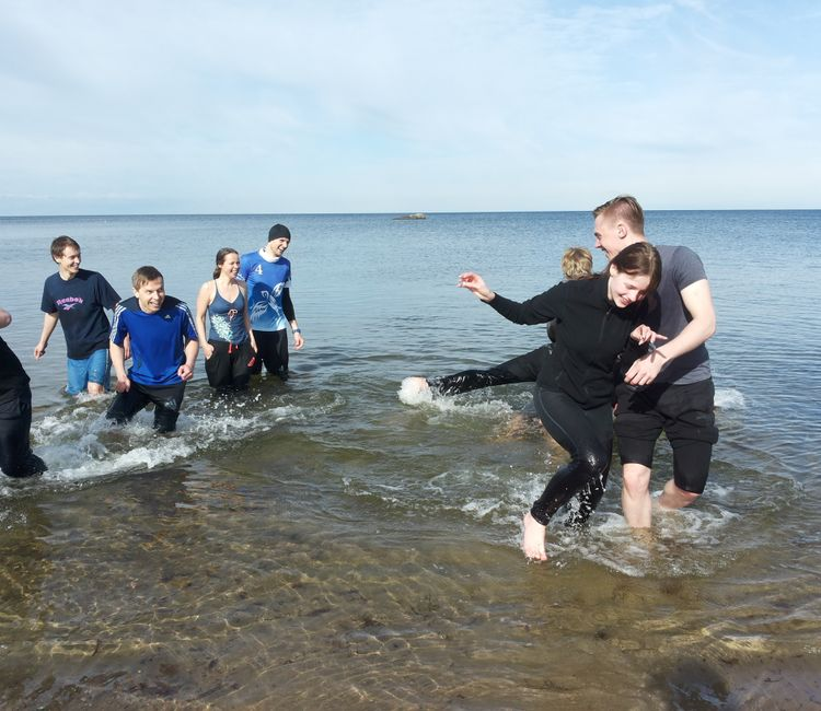 Team-building events in Estonia