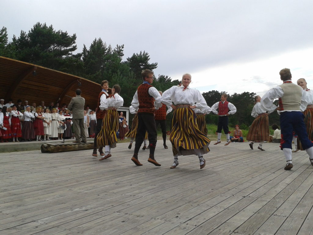 Estonian Folk Traditions on Prangli island.