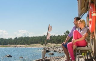 Meeli Laidvee. Summer time on Prangli island. Two days in Estonia.