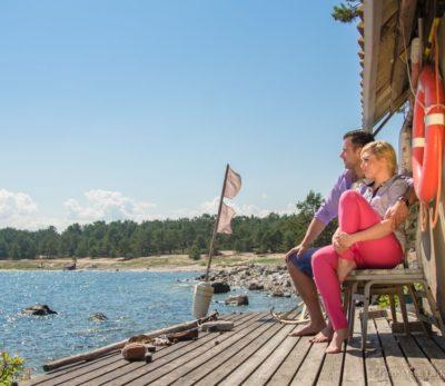 Meeli Laidvee. Summer time on Prangli island. Two days in Estonia.