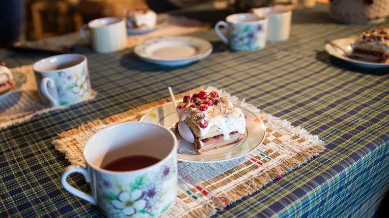 Cafe Day. Estonian Islands. Prangli saar