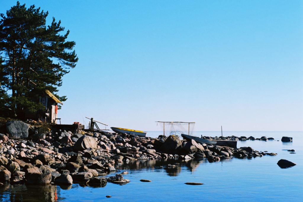 Clear blue sky makes day trip to Prangli island memorable