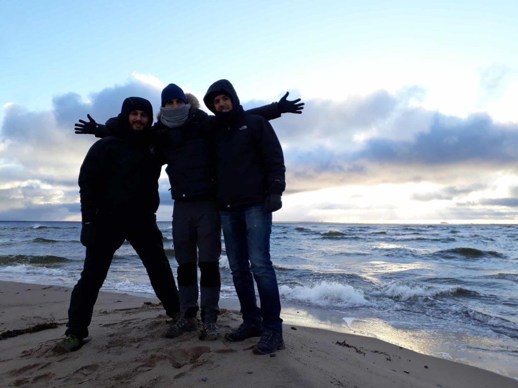 Prangli saarel saab Eesti talve nautida matkates