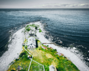 ©Carl-Martin Nisu. Keri saar on umbes 400 m pikk ning 80 m lai