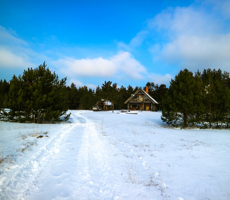 Talv Prangli saarel