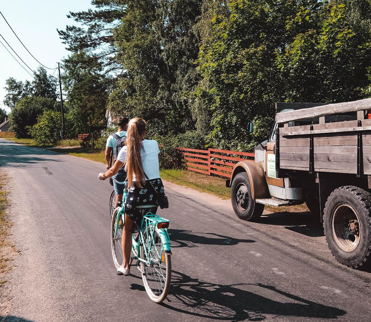 Kontaktivaba rattalaenutus Prangli saar